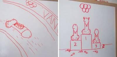 愛的堅持!男子畫「雞雞」送老婆,365天不間斷