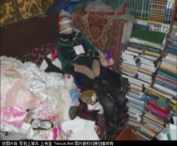 戀屍癖屢見不鮮,但是打扮成洋娃娃和泰迪熊也太喪心病狂了......