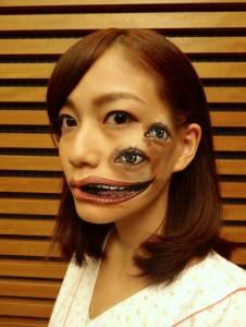 東京藝術家Hikaru Cho逼真驚悚的人體彩繪