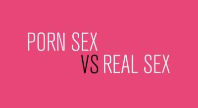 A片性愛 vs 真實性愛的有趣數據