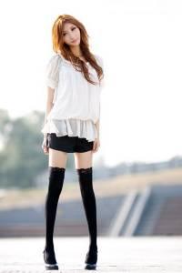 美空模特兒李妍 美得讓人看到腦袋空空