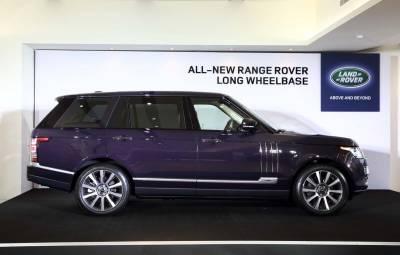 豪華頭等艙 Land Rover Range Rover LWB
