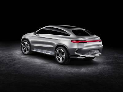 複製車全面進攻 M.Benz Concept Coupe SUV