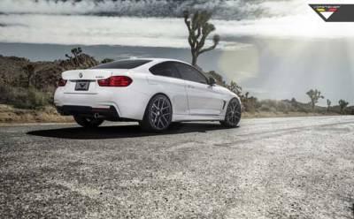 阿爾卑斯山的白馬 Vorsteiner BMW F32 435i Alpine White