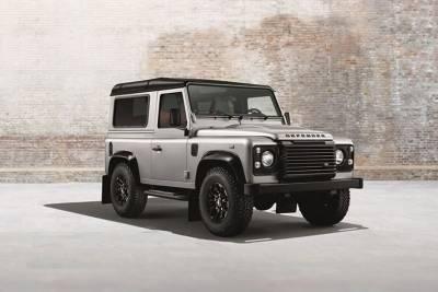 黑銀剽悍猛車 Land Rover Defender 系列車款