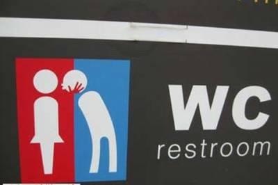 讓人噴飯!國外各種讓你傻眼的廁所設計