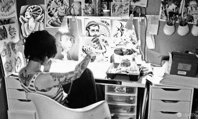 加州的才女藝術家「Quyen Dinh」 來台展售經典電影刺青畫!