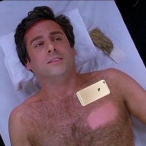 不是吧..iPhone6 強大到可以除毛...