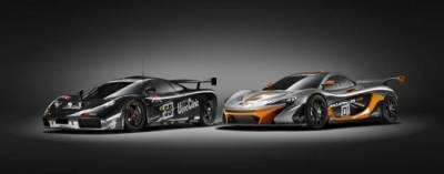 扣關千匹概念賽車McLaren P1 GTR