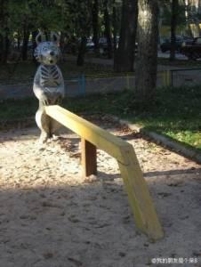 讓孩子會有童年陰影的溜滑梯