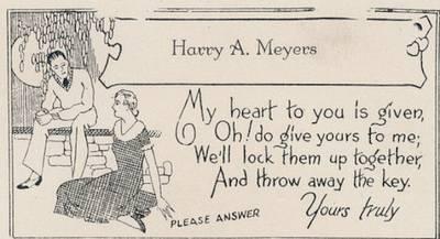 驚訝!19世紀竟然就有這種約砲信...