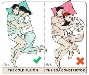 情侶床上怎樣的姿勢最正確...最後一組讓我笑翻了