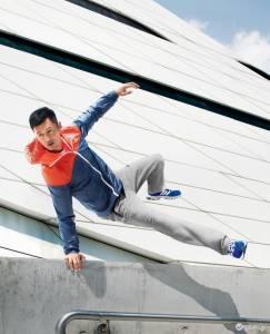 adidas宣布余文樂成為男性訓練全新代言人 休閒運動 x 城市元素 完美演繹2014秋冬系列