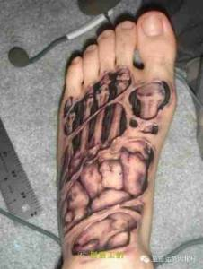 你見過3d紋身嗎?最後一個嚇尿了。。。