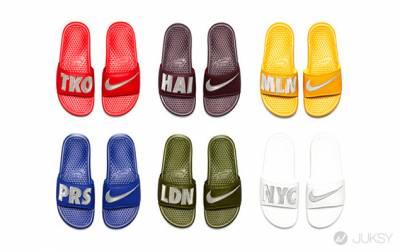 拖鞋熱潮來襲!Nike Sportswear 城市主題拖 發售消息