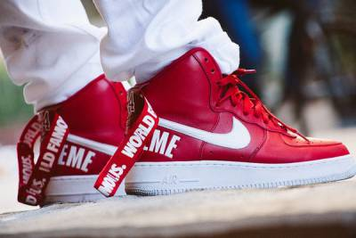 Supreme x Nike Air Force 1 High 經典美牌聯名 準備通殺鞋友荷包