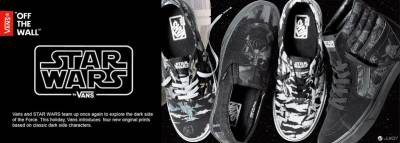 VANS X STAR WARS Take a Walk on the Dark Side