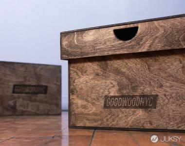 紐約木工團隊 GOODWOOD 為球鞋人打造專屬鞋盒!