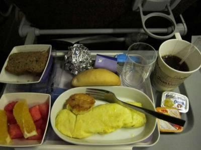 10大令人越吃越傷心的飛機餐