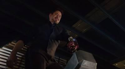 鋼鐵人挑戰舉起索爾的槌子...結果竟然...!!