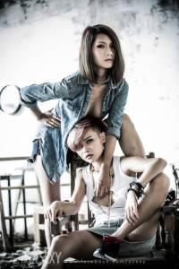 危險關係 兩人的激情火花──熊寶 薇薇│尤物雜誌