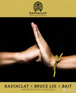 全球限量 Rastaclat® BAIT與李小龍聯名手環發售