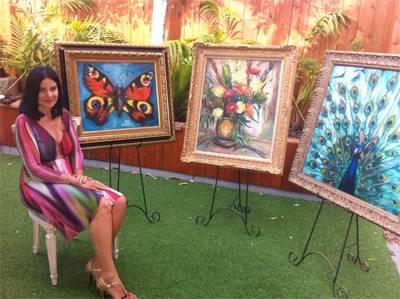 一個視覺超能力者的畫作!炫爛無比~~她能分辨9900種顏色!