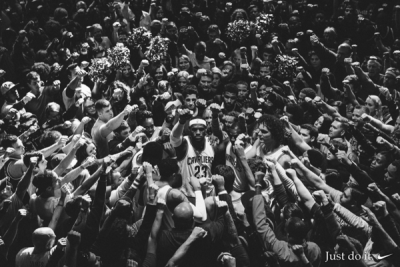 Nike 籃球推出 LeBron James 廣告短片《TOGETHER》