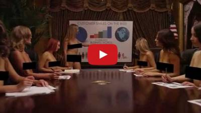 天啊這什麼夢幻公司!女員工都沒穿衣服