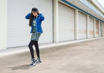 adidas Originals 11 月秋冬新品上市 時尚天后范冰冰蝴蝶印花引領秋冬潮流