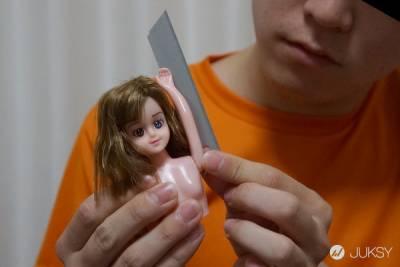 兒時回憶崩壞 芭比娃娃也能變果汁機?
