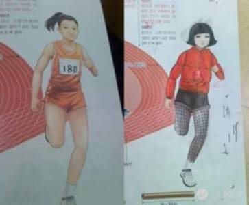 學生課本塗鴉 隨手一畫完全時尚來著!