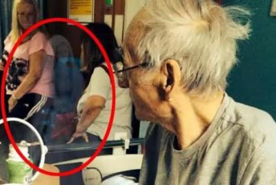 老人床邊驚現「幽靈」,然後奇蹟發生了……