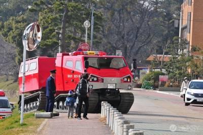 日本最強全地形用消防戰車...太屌了是變形金剛嗎?
