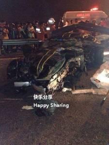 [ R.I.P] 新加坡保時捷賽車,選手比賽奪冠後前往吉隆坡發生意外當場死亡!!