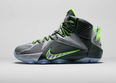 NIike籃球發表LEBRON 12 DUNK FORCE配色