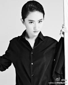 神仙姊姊劉亦菲扮成男人竟然那麼帥!!