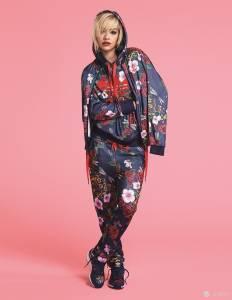 adidas Originals by Rita Ora 第二波秋冬系列上市 亮黑噴墨與午夜玫瑰 性感前衛街頭風格!