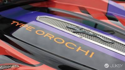 7-11 × 光岡自動車 推出限定1台的傳說中超跑『新世紀福音戰士 大蛇Orochi』