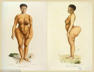 金·卡達夏的翹臀跟遠古南非人相似?難道其中有什麼淵源...