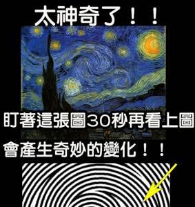 太神奇!!其實你從未看懂過「梵谷」的星空,這樣看,會產生奇妙的變化~~~!!