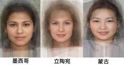 全世界各國女性的平均長相!看到最後日本高中生時我哭了.....
