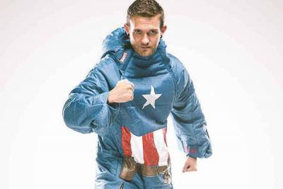 打擊犯罪也要睡飽飽-「超級英雄」系列睡袍