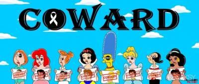 卡通人物各種慘樣...原來是為了宣導重要議題
