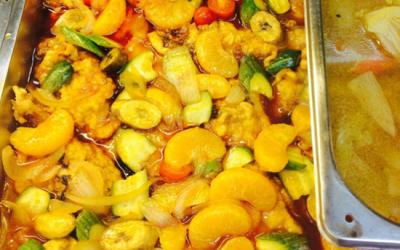 中國大陸的學生餐廳都在煮黑暗料理!