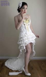 美麗婚紗卻有你意想不到的事!!令人大跌眼鏡的創意製作!!!