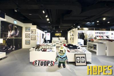HOPES美式潮流概念店 11 8正式開幕