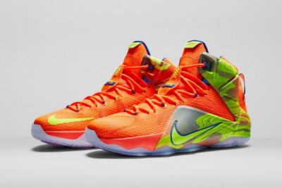 NIKE籃球發表LEBRON 12 SIX MERIDIANS配色 全新配色揭開