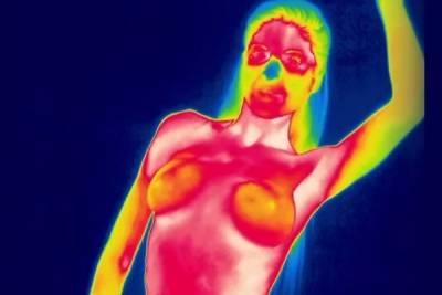 18禁科學實驗 熱感應攝影機讓真假奶無所遁形...