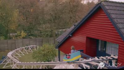 雲霄飛車不在遊樂場而在「房子內」 背後商業用意居然是...?